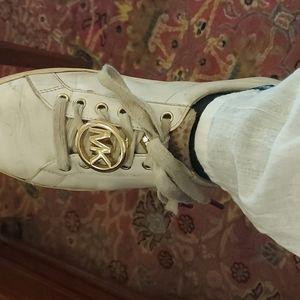 shoes white michael kors 8.5